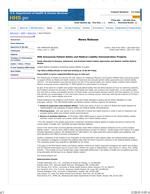 Seven Pillars Grant Press Release