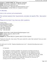 UMC Response About Grigoriev