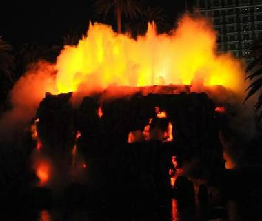 The man-made Mirage volcano that has been spewing fire and water since the Strip hotel's 1989 opening, a first-of-its-kind attraction, will now offer Two to three nightly shows. The Mirage volcano times ...
