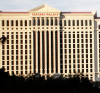 An exterior view of Caesars Palace on Thursday, June 6, 2013.