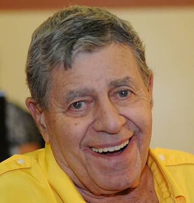 Jerry Lewis' appearance at the Nevada Broadcasters Hall of Fame Gala was devoid of talk of his future with the MDA, but he was clearly enlivened at appearing before a Las Vegas audience once more.