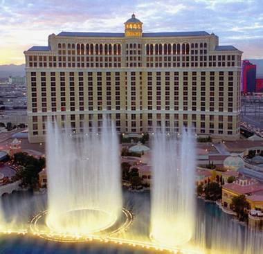Guests at the Bellagio can buy a chance to control the resort's famed dancing fountains – for $250,000 a pop. High rollers can pay to press a shiny red button that controls the fountains and makes them dance to the customer's favorite tunes. The deal is offered at Hyde Bellagio.