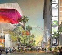 A Brooklyn Bowl entertainment venue, a Yard House beer bar and an Asian-themed food and art marketplace are among anchor tenants coming to a master-planned complex being built at the base of a big new Strip observation wheel, Caesars Entertainment Corp. officials will announce Monday.