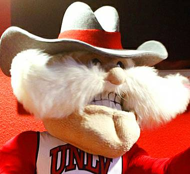 UNLV President Len Jessup today announced his support for the university's Rebels nickname and mascot, despite recent protests by students who assert they are ...