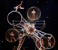 The stunt-filled spectacular has performed more than 6,000 shows over 13 years at MGM Grand ...