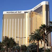 Mandalay Bay is beginning to emerge from the cloud of the Oct. 1 mass shooting, but the Strip resort isn't out of the woods yet, MGM Resorts International executives said today during ...