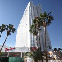 The CEO of Tropicana's parent company on Thursday hinted that the Las Vegas resort might not open as planned ...