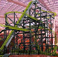 A Las Vegas casino roller coaster where a woman who is a double amputee fell has quietly reopened. KLAS-TV reported Sunday that the El Loco ride at Circus Circus Adventuredome went back ...