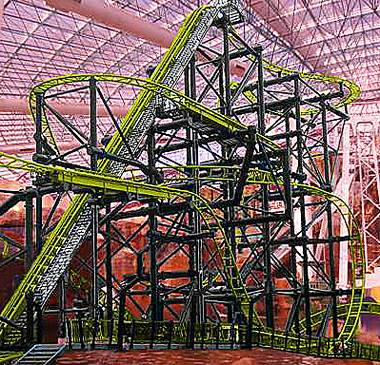 It twists, it turns, and it is sure to make even the most seasoned roller-coaster rider scream. The anticipated thrill ride El Loco inside Adventuredome will begin operating in late January, Circus Circus announced today.
