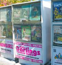 The decision affects 288 news rack locations on the Strip. Commissioners have called the racks eyesores that clog sidewalks. Many of the current racks display adult-themed publications that feature …