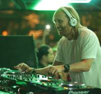 David Guetta celebrates the fourth anniversary of XS in Steve Wynn's Encore on Friday, April 5, 2013.