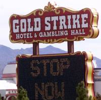 MGM Resorts International announced today it has entered into an agreement to sell the Gold Strike in Jean to JETT Gaming, a slot machine route company ...