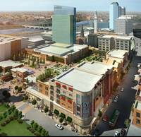 MGM outlined its construction schedule for an $800 million resort casino in Springfield on Thursday, starting with a March 24 groundbreaking. At a rare Springfield meeting for ...