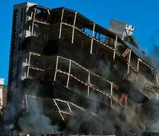 Las Vegas is back in the implosion business, picking up where it left off after a string of iconic resorts were brought down with explosives from 1993 to 2007. A quiet post-recessionary period followed in which implosions were limited to such structures as ...