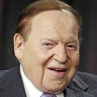 Las Vegas Sands Corp. CEO Sheldon Adelson speaks at the Global Gaming Expo, Wednesday, Oct. 1, 2014, in Las Vegas.