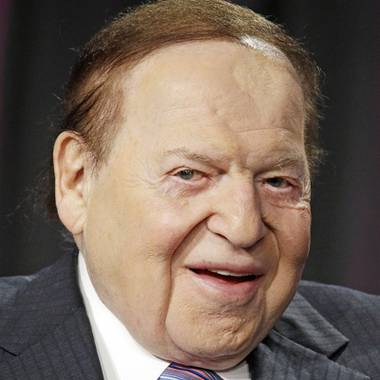 Sheldon Adelson, who rose from a modest start as the son of an immigrant taxi driver to become a billionaire Republican powerbroker with a casino empire and ...