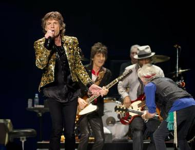 The Rolling Stones have canceled their Wednesday night concert at T-Mobile Arena while singer Mick Jagger recovers from laryngitis ...