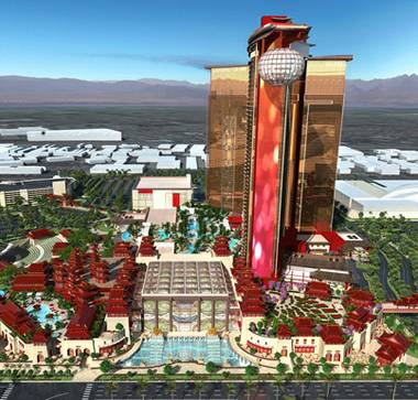 A years-delayed multibillion-dollar casino-resort project on the Las Vegas Strip that would cater to the city's Chinese and Chinese-American tourists announced that it is pushing ...