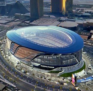 Proponents say the proposed 65,000-seat, domed stadium is the missing link in Las Vegas' entertainment offerings. A flashy stadium steps away from ...