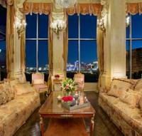 Depending on your taste, it's either almost $8 million of baroque beauty or another example of over-the-top Las Vegas excess. But a three-floor penthouse condo owned by ...
