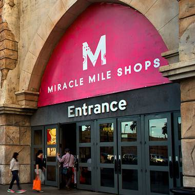 The Miracle Mile Shops, the indoor mall featuring more than 200 shops, restaurants and bars, is the only major retail destination on the Strip to stay open while ...