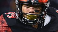 The San Diego State Aztecs will take on the Houston Cougars on Dec. 17 at Sam Boyd Stadium in the 2016 Las Vegas Bowl, the bowl announced Sunday afternoon. The intrigue of the game will be the Aztecs' running back, Canyon Springs graduate Donnel Pumphrey, who only needs 108 rushing yards to pass Ron Dayne for the most career rushing yards in NCAA history ...