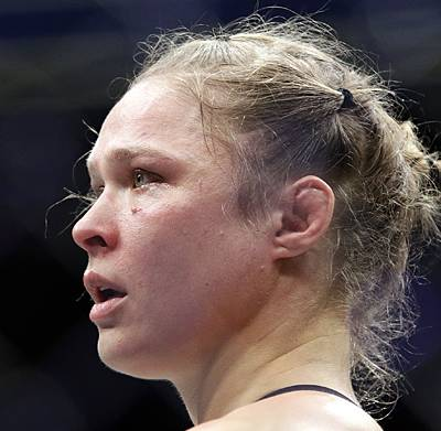 From the first punch Amanda Nunes threw, the sound in Ronda Rousey's corner was panic. The cries of desperation implored Rousey to do something, to do anything to ...