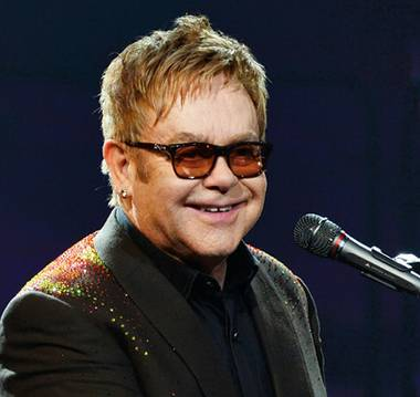 Elton John teared up while paying tribute to his friend George Michael during a concert in Las Vegas this week. With a picture of Michael lighting up the backdrop of the stage, he performed ...