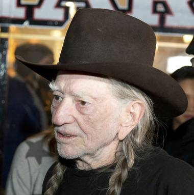 With burning joints raised high, about 200 marijuana industry employees and representatives celebrated the arrival of country music legend and marijuana advocate Willie Nelson on ...
