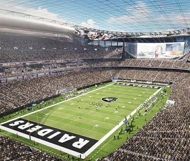 Las Vegas NFL: After more than a year of anxious courtship (and dramatic politics surrounding the big money), the Raiders have ...