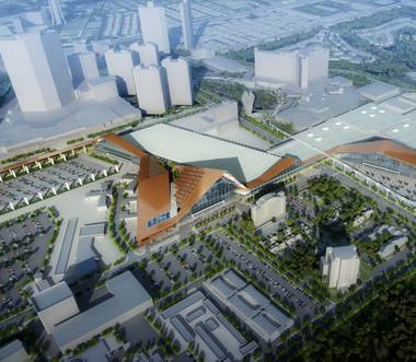 The Las Vegas Convention and Visitors Authority's massive $935 million expansion of the Las Vegas Convention Center has been well-documented, but it's not the only ...