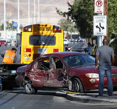 As traffic safety enforcers and experts try to solve the countywide problem of crashes and fatalities, others are taking a closer look at what makes some Las Vegas roads ...