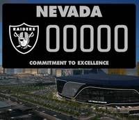 Raiders fans in Las Vegas can soon be sporting the team's logo on their license plates, with a specialty Nevada tag due out Monday, according to the charitable Raiders Foundation. The black-background ...