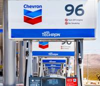 Billed as the largest Chevron in the United States, Terrible's Road House travel center, located across I-15 from the Gold Strike hotel, boasts 96 gas pumps, 60 restroom ...
