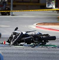 A motorcyclist was killed late Thursday morning in a crash on an east valley roadway. A motorist in a car was making a left turn without yielding ...