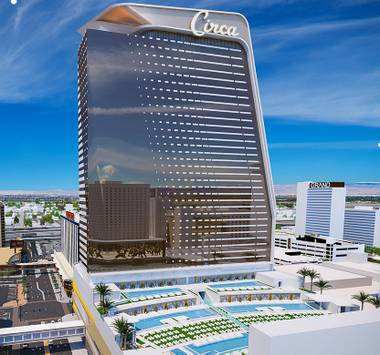 The new Circa Resort & Casino in downtown Las Vegas is expected to be open in time for Halloween. The first five floors of the 35-story resort — basically ...