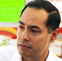 Democratic presidential candidate Julian Castro returned to Las Vegas today, telling a room full of business leaders that the Latino community's bilingual, ambitious young people are one of America's best ...