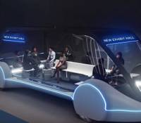 The Las Vegas Convention and Visitors Authority board of directors approved a contract with an Elon Musk company to build an underground people mover ...