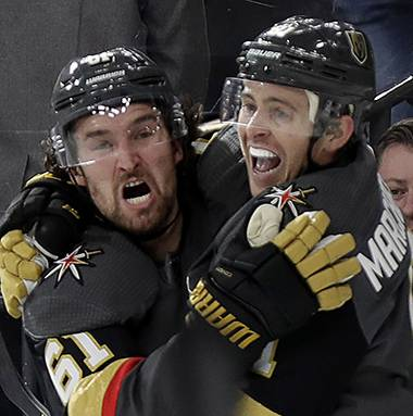 A soon as the penalty was called on the Golden Knights' Ryan Reaves it was easy to draw the comparison and think the worst. With Vegas dominating Vancouver in Game 7  ...