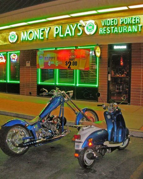 Open Mic night at Money Plays