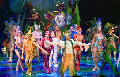 <em>Mystere</em> at Treasure Island