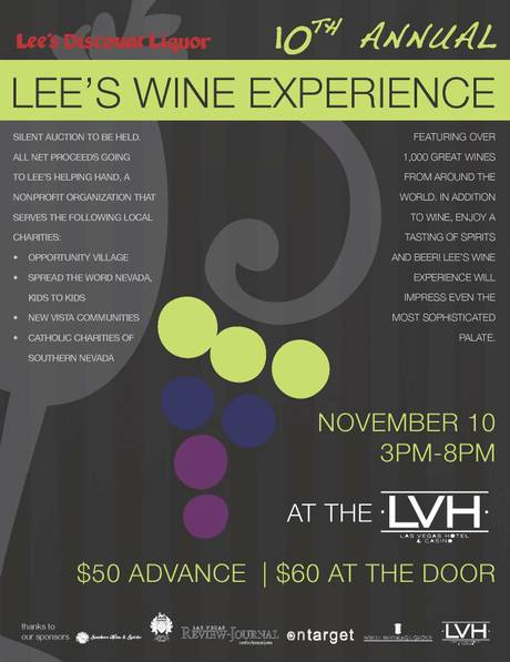 Lee's Wine Experience