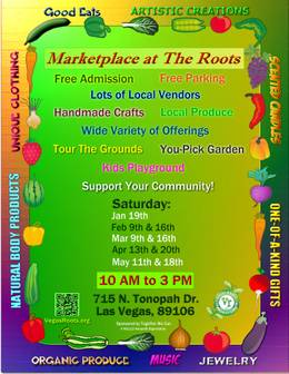 Vegas Roots Community Garden's Marketplace at The Roots