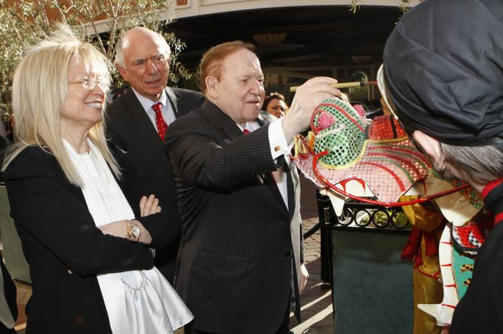 Asian casinos boost Sheldon Adelson's ranking on Forbes ...