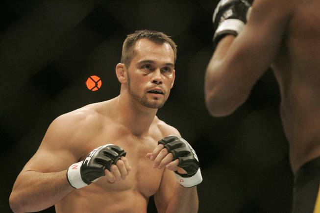 UFC 64: Unstoppable - Rich Franklin looks for an opening on ...