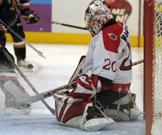 Former Las Vegas Wranglers goalie Marc Magliarditi will be inducted into the ECHL Hall of Fame on Jan. 23.
