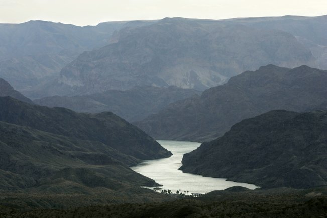 Colorado River - Las Vegas Sun photo...