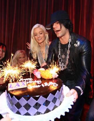 Cool Criss Holly Birthday Bash Makes For Late Night Las Vegas Sun Funny Birthday Cards Online Elaedamsfinfo