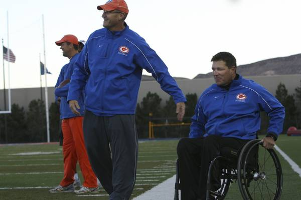 Gorman Coach Doesn't Let Disability Slow Him Down
