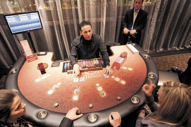 Baccarat defies recession by drawing gamblers willing to part with a  fortune - Las Vegas Sun Newspaper